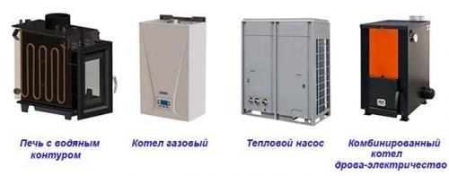 Отопление в доме. Виды котлов и других водогрейных аппаратов
