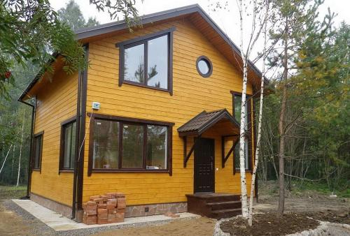 Небольшой каркасный дом своими руками. Как быстро и недорого построить каркасный дом своими руками