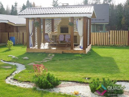 Оптимальный размер дома для участка 10 соток. Оптимальное зонирование