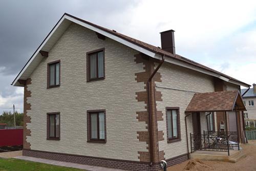 Отделка деревянного дома снаружи. Натуральное дерево для обшивки деревянного дома