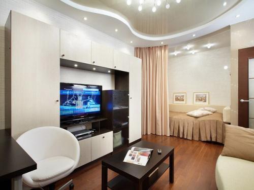 Шторы для квартиры однокомнатной квартиры. Шторы для однокомнатной квартиры