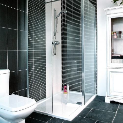 Ванная комната с душем без кабины. Почему многие отказываются от ванны