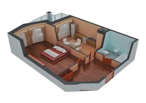 Из комнаты сделать 2 комнаты. Как из 1 комнатной квартиры сделать 2 комнатную