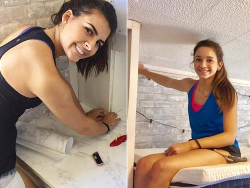 Как обустроить комнату в студенческом общежитии. Две студентки превратили комнату в общежитии в невероятно уютную спальню