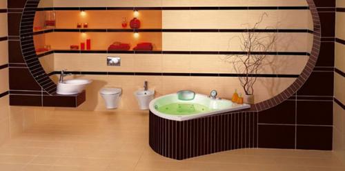 Ванная в комната в коттедже. Выбор материалов для ванной