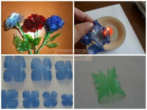Как сделать цветок из пластиковой бутылки своими руками. Цветок из пластиковой бутылки своими руками: пошагово