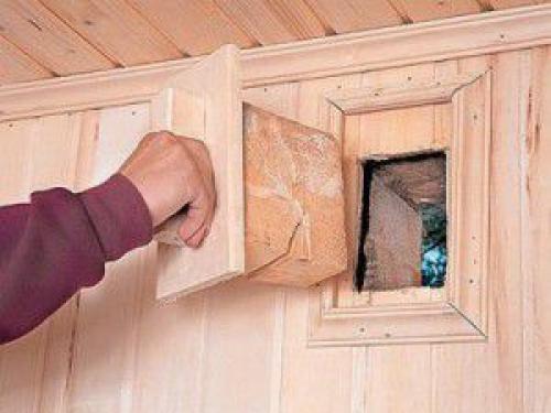 Нужна ли вентиляция в деревянном доме. Естественная вентиляциядеревянного дома