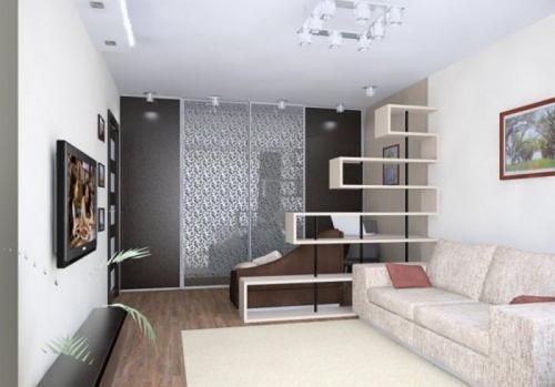 Как выделить детскую зону в однокомнатной квартире. Разделение на зоны