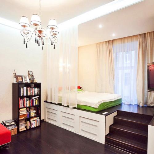 Ремонт 1 комнатной квартире. Функциональное зонирование в ремонте 1 комнатной квартиры