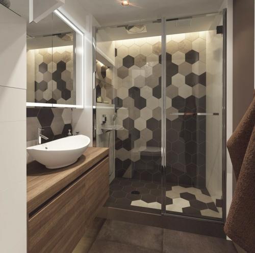 Дизайн большой ванной комнаты. Дизайн маленькой ванной комнаты: интересные и практичные идеи