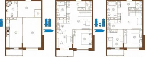 С чего начать ремонт в квартире вторичного жилья. Перепланировка помещений