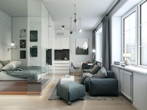 Планировка однокомнатной квартиры 40 кв м. Распространенные решения перепланировки квартиры 40 кв. м.
