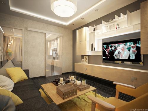 Квартира 60 кв м. Дизайн квартиры 60 кв. м. Стили дизайнов и их применение.