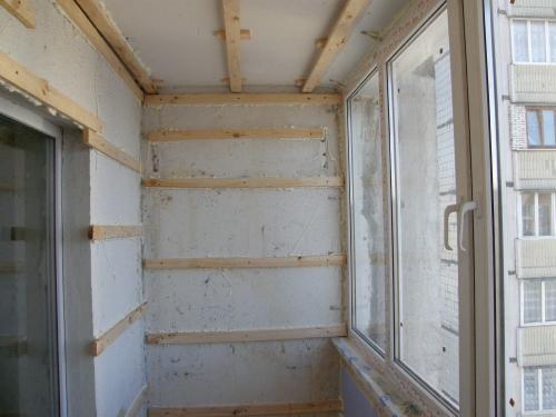 Как своими руками сделать ремонт на балконе недорого. Этапы ремонта лоджии ибалкона