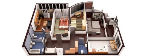 Планировка 4 х комнатной квартиры в панельном доме. Планы четырехкомнатных квартир