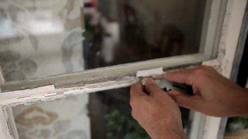 Проклеить окна на зиму. №1. С чего начинается утепление деревянных окон?
