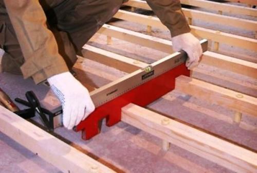 Устройство межэтажного перекрытия в деревянном доме своими руками. Технология монтажа перекрытий из дерева