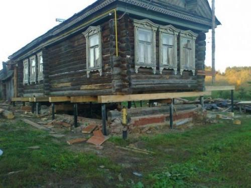Своими руками реконструкция деревянного дома. Реконструкция фундамента