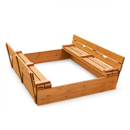 Песочница с крышкой скамейкой своими руками схема. Как сделать песочницу с крышкой: чертежи, фото