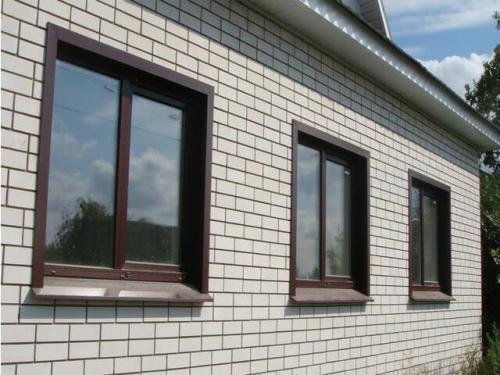 Отделка окна снаружи. Облицовка пластиковых окон снаружи