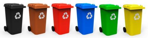 Срок службы мусорного контейнер. 1 куб.м. Виды и типы мусорных контейнеров в России