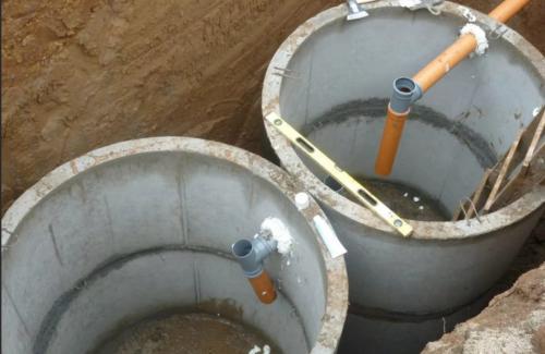 Канализационный колодец на даче. Виды канализации с септиком