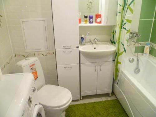Санузел в хрущевке раздельный. Планировка ванной комнаты