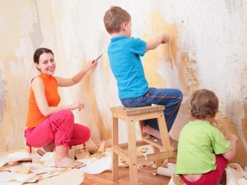 Подготовка стен под обои после старых. Как подготовить стены к поклейке обоев своими руками: основные этапы