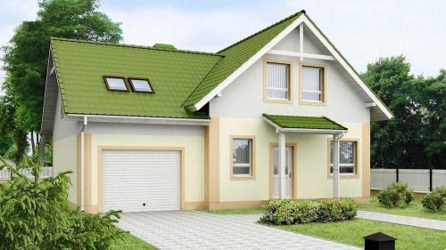 Гараж в загородном доме. Дом с гаражом – очевидные преимущества