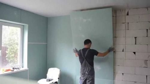 Отделка стен частного дома внутри. Выбор материала для дома с периодическим проживанием