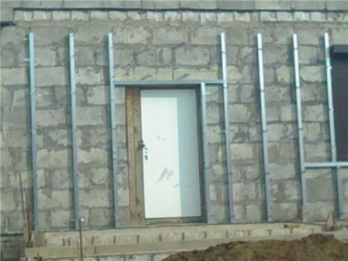 Отделка фасада пеноблочного дома. Чем будем отделывать