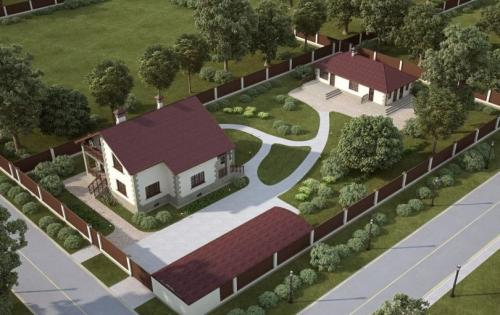 Дизайн земельного участка 6 соток. Участок 6 соток: примеры планировки и варианты обустройства участка в 6 соток (125 фото)