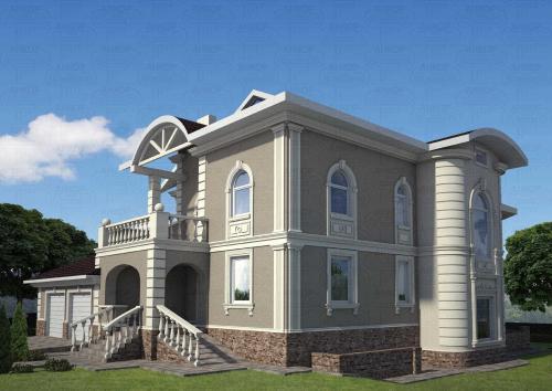 Как фасад дома сделать красивым. Декор фасада дома: материалы и технологии