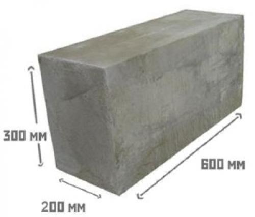 Сколько в 1 кубе силикатных блоков. Пеноблок 200х300х600 сколько штук в кубе