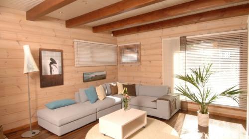 Чем отделать стены в частном доме. Внутренняя отделка дачного дома: лучшие варианты