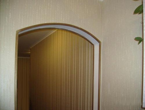 Чем отделать угол арки. Четкие линии и защиту от разрушения получаем благодаря окантовке